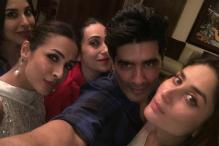 Kareena Kapoor, Malaika Arora Attend Manish Malhotra's Dinner Party