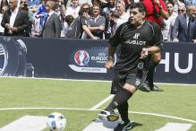 Diego Maradona Will Play Against Sourav Ganguly in Kolkata