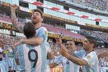 Messi Scores As Argentina Thrash Venezuela to Enter Copa America Semis