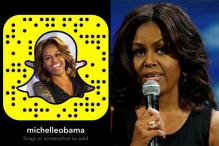 Michelle Obama Joins Snapchat as 'MichelleObama'