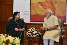 Jayalalithaa Meets PM Modi; Rakes up GST Issue