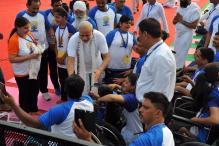 Modi Obliges People with Selfies at International Yoga Day Celebrations