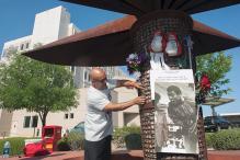 In Arizona, Muhammad Ali Fans Create Makeshift Memorial