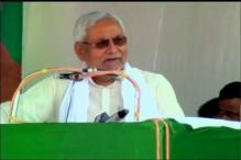 Farmers Show Black Flags to Bihar CM Nitish Kumar in MP