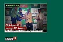 Twin Glory for CNN-News18 Sports at News Television Awards
