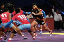 Patna Pirates Beat U Mumba in Pro Kabaddi League