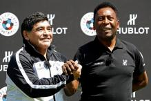 Pele, Maradona Come Together For Friendly Match