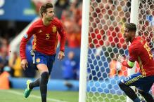 Pique Header Gives Spain 1-0 Win Against Resolute Czech Republic