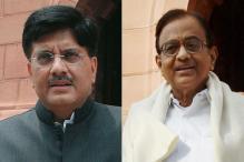 Piyush Goyal, Chidambaram Elected to Rajya Sabha From Maharashtra