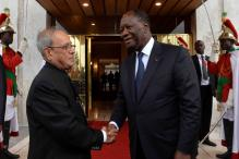 Pranab Mukherjee Awarded Highest Honour Of Cote D'Ivoirie: Ivory Coast