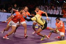 Puneri Paltan beat Telugu Titans in the Opening Game