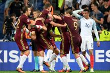 Late Russia Equaliser Deals Blow to England Hopes in Euro 2016