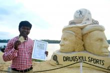 Sand Artist Sudarsan Pattnaik Wins Gold in People's Choice Prize