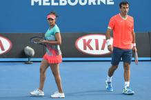 Sania, Leander Enter French Open Mixed Doubles Semis