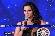 Winner of Indian of the Year 2015  in Sports Category: Sania Mirza