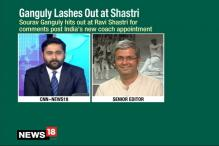 Why Was Shastri Holidaying Asks Ganguly
