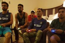 Dhoni Rides a Policeman's Bike, Plays FIFA on PS During Zimbabwe Tour