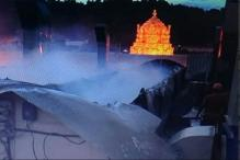 Fire Breaks Out At Tirumala Temple, No Casualties
