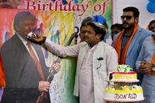 Hindu Sena Celebrates 'Saviour' Donald Trump's 70th Birthday