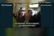 Watch 3 Youngsters in UK Racially Abuse A Tram Passenger & Ask Him To Return To Africa