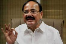 Naidu Attacks Cong for Speaking in Double Voices on Kashmir
