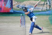 Virat Kohli Hits the Nets Ahead of West Indies Test Series