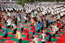 Sculptures Depicting Yoga Asanas Installed Ahead of Modi's Visit to Chandigarh