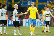 Belgium Seal Pre-quarters Berth in Ibrahimovic Farewell