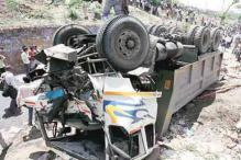 Eight Killed as Two Buses collide in Jharkhand