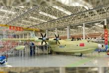 China Unveils World's Largest Amphibious Aircraft