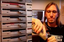 This Guy Recreated the 'Star Wars' Theme Song With Floppy Disk Drives!