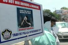 Hyderabad Cops Crack Down on Drunk Driving