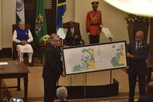 India Hand Over Navigational Chart to Tanzania