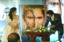 Sania Mirza Upbeat at the Release of Her Autobiography