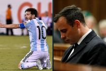 Messi and Pistorius Cut a Sorry Figure on a Day They'll Never Forget