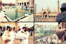 Eid Mubarak: 360-Degree View of the Majestic Jama Masjid