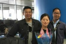 Wife of Prominent Chinese Dissident, Son Escape to America