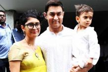 Aamir Khan Gives His Son Azad an Eidi of Rs 2