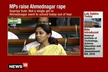 MPs Raise Ahmednagar Rape in Lok Sabha