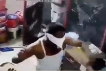 Caught on Camera: Goons Attack Petrol Pump In Ahmedabad