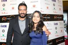 Ajay Devgn Walks Red Carpet at LIFF With Daughter Nysa