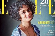 Arundhati Roy Graces The Cover Of Elle Magazine In A Pero Creation