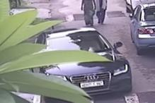 Thieves in Stolen Audi, Drive Away a BMW from Noida