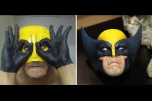 This Guy Uses Household Objects To Create Brilliantly Bad Low-Cost Costumes