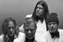 Metallica Front Brioni's New Campaign