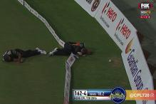 Horror Head-Clash in Caribbean Premier League