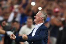 France Never Gave Up, Says Didier Deschamps