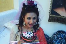 Divyanka Tripathi Celebrates Bachelorette Party in Her Vanity Van