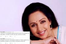 Hema Malini to Restrict Her Twitter Updates to Films and Dance