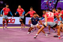 Jaipur Edge Out Delhi to Shoot to Top of Table in Pro Kabaddi League